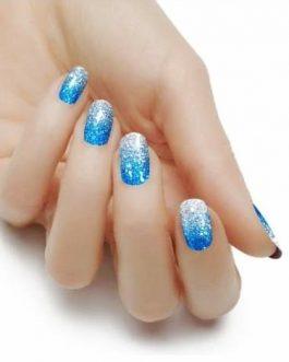 Blue/Silver Ombre (Gelz)